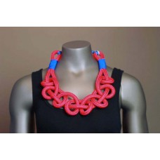 Twisted Necklace - Red