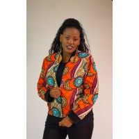 Trendy Ankara Jacket - Ankara Coat - Unique Modern African Clothing - African Print