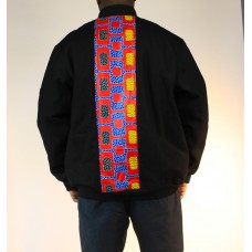 Ankara Winter Canvas Jacket