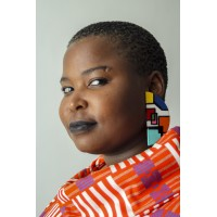 Ndebele Art Earrings