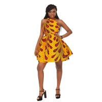 African Print Dress - Traditional African clothing - Womens Clothing