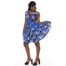 African Print Ankara party dress - Modern African Womens Clothing